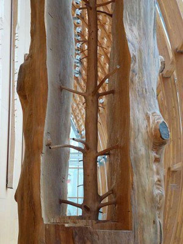 Artă în lemn