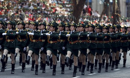 Femeile soldaţi şi armata ţărilor din care au decis să facă parte