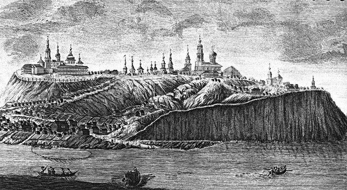Oraşul-insulă Sviyazhsk. Ideea primului Ţar şi victima calamităţilor naturale