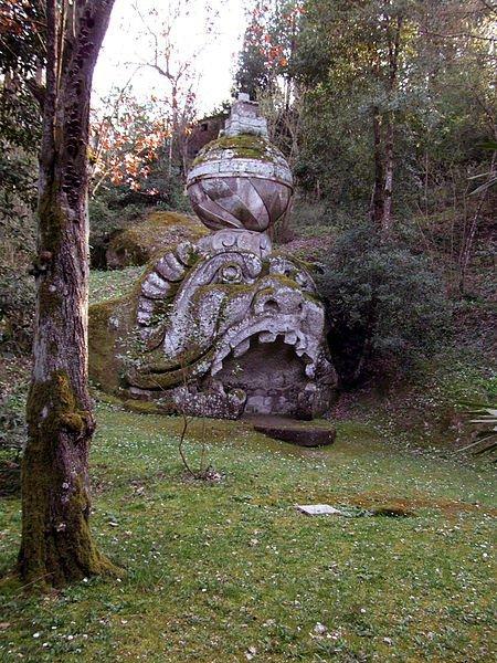 ''Parcul Monştrilor'', grădina bizară
