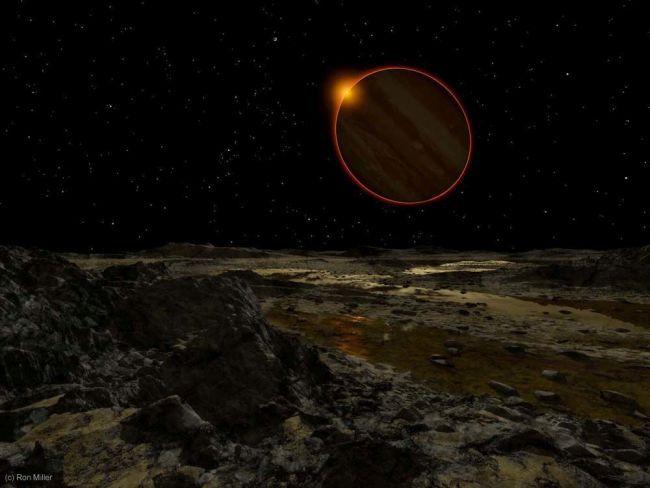 Soarele, privit de pe suprafaţa planetelor din Sistemul Solar
