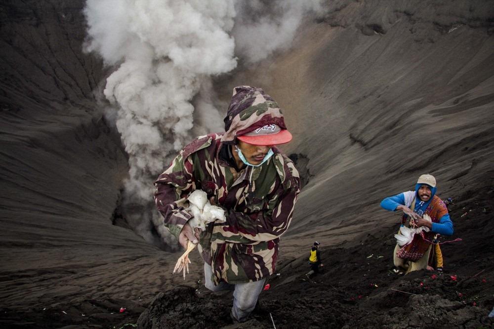 Cum arată Muntele Bromo? Cel mai ,,înfometat'' vulcan
