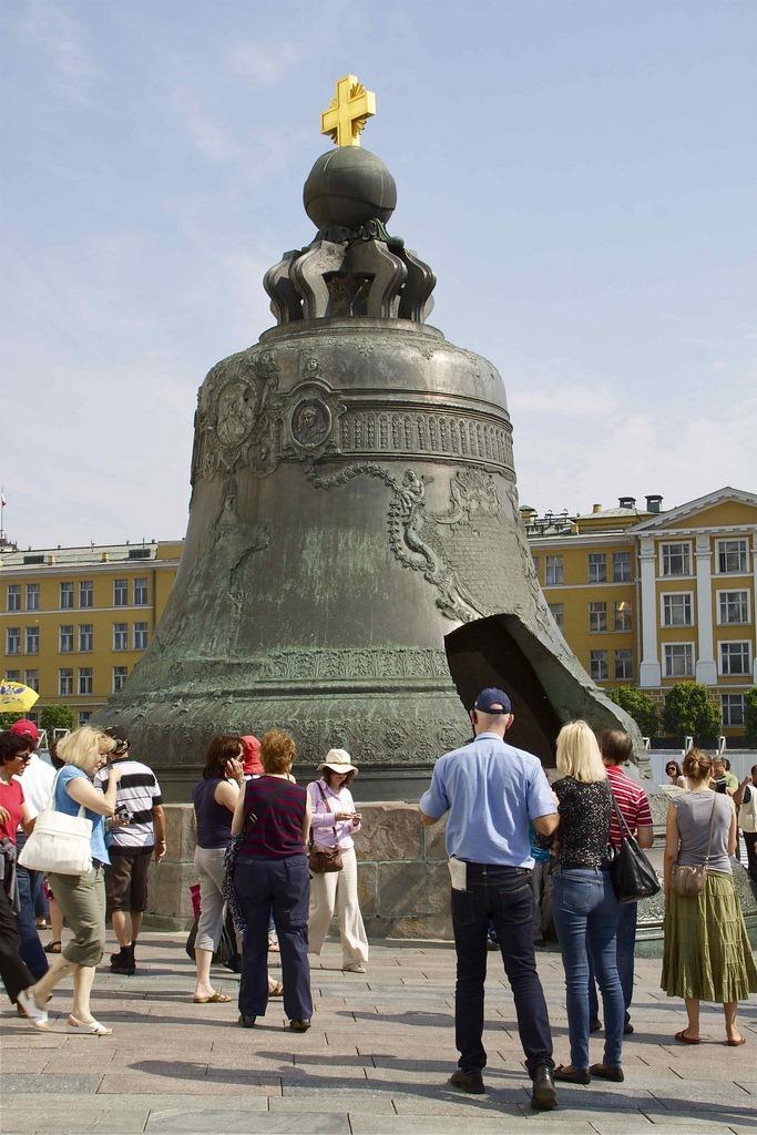 Grandoarea rusească reprezentată de Tunul şi Clopotul Ţarului