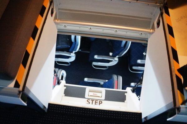 Camere din avioane unde nu au acces pasagerii