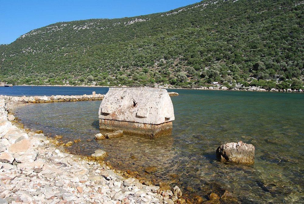 Oraşul scufundat din Kekova,  zonă protejată de guvernul Turciei