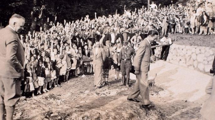 Imagini inedite din Germania nazistă