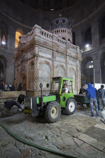 Sfântul Mormânt al lui Iisus Hristos a fost restaurat