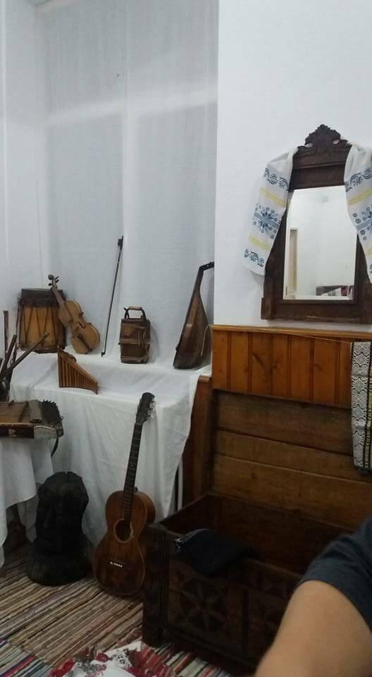 Muzeul din şcoala din Măgurele. FOTO: Laura Petrescu