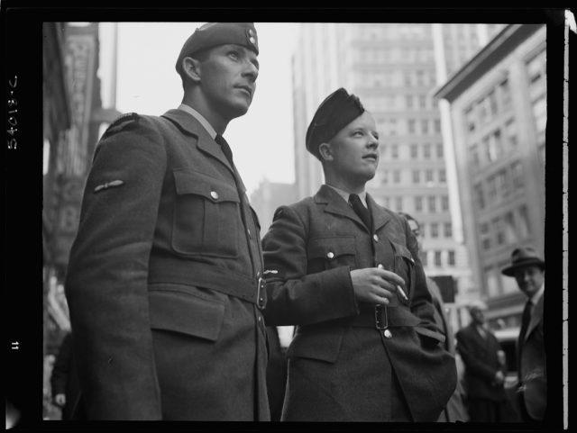 Debarcarea Aliaţilor în Normandia văzută din New York