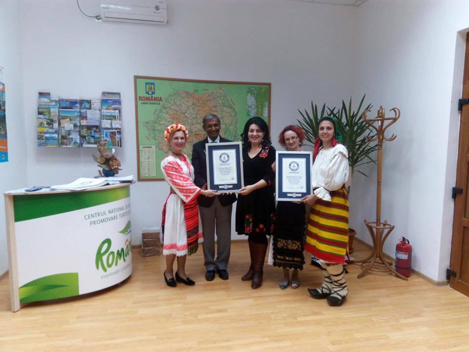 Dansul popular din Bistriţa-Năsăud a intrat în Cartea Recordurilor