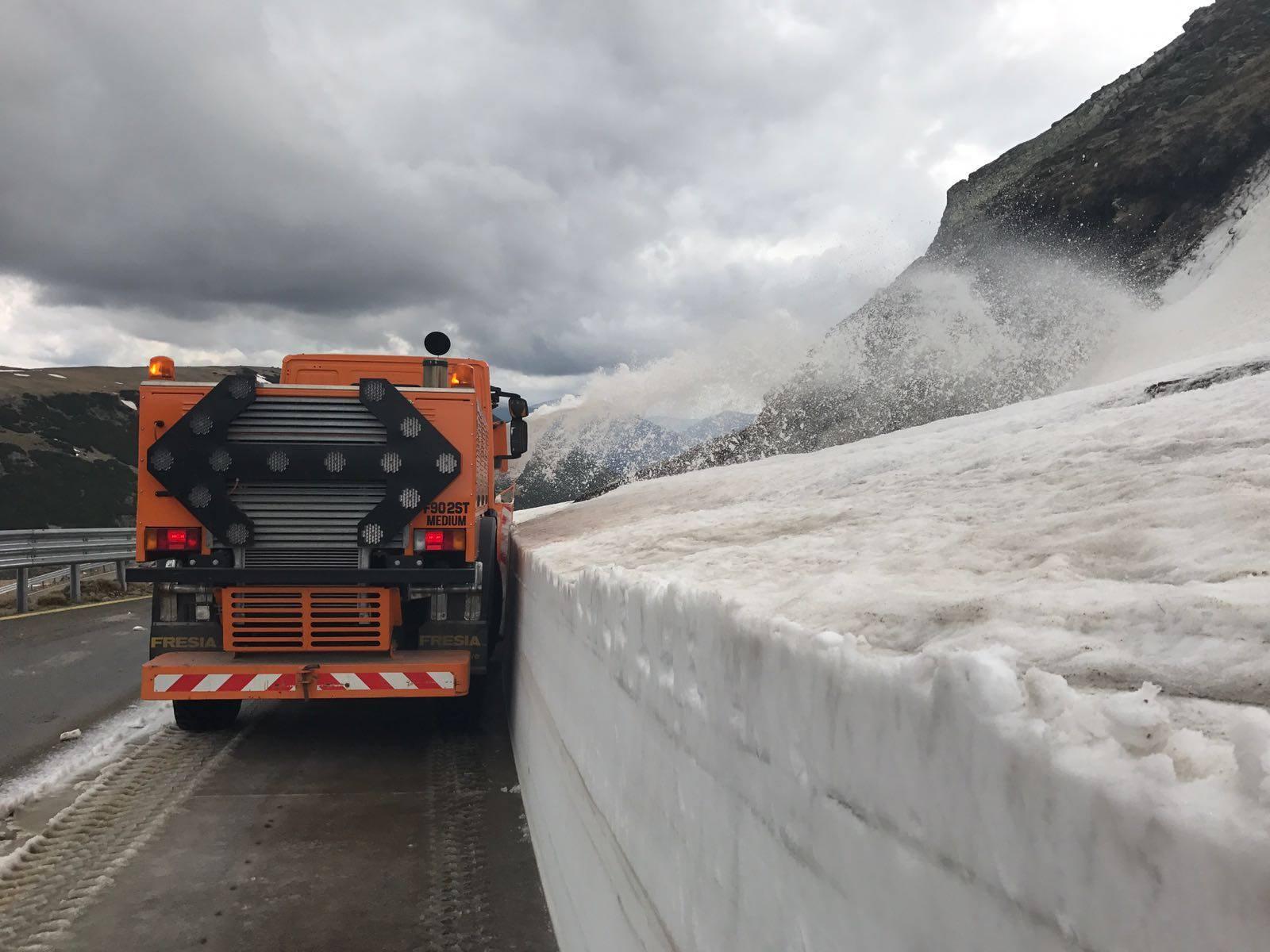 Transalpina va putea fi deschisă de la 1 iunie