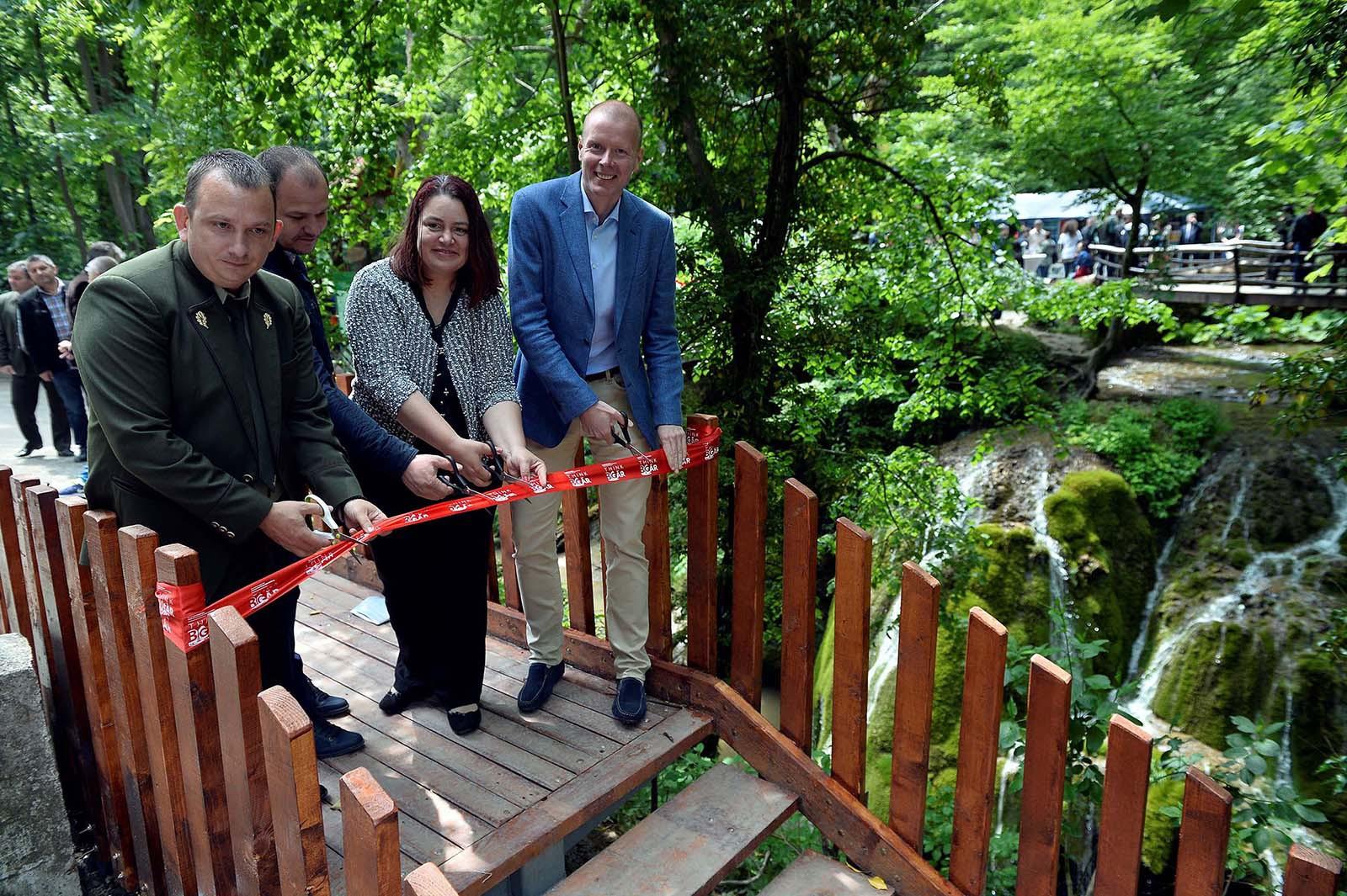 Cascada Bigar a fost reamenajată