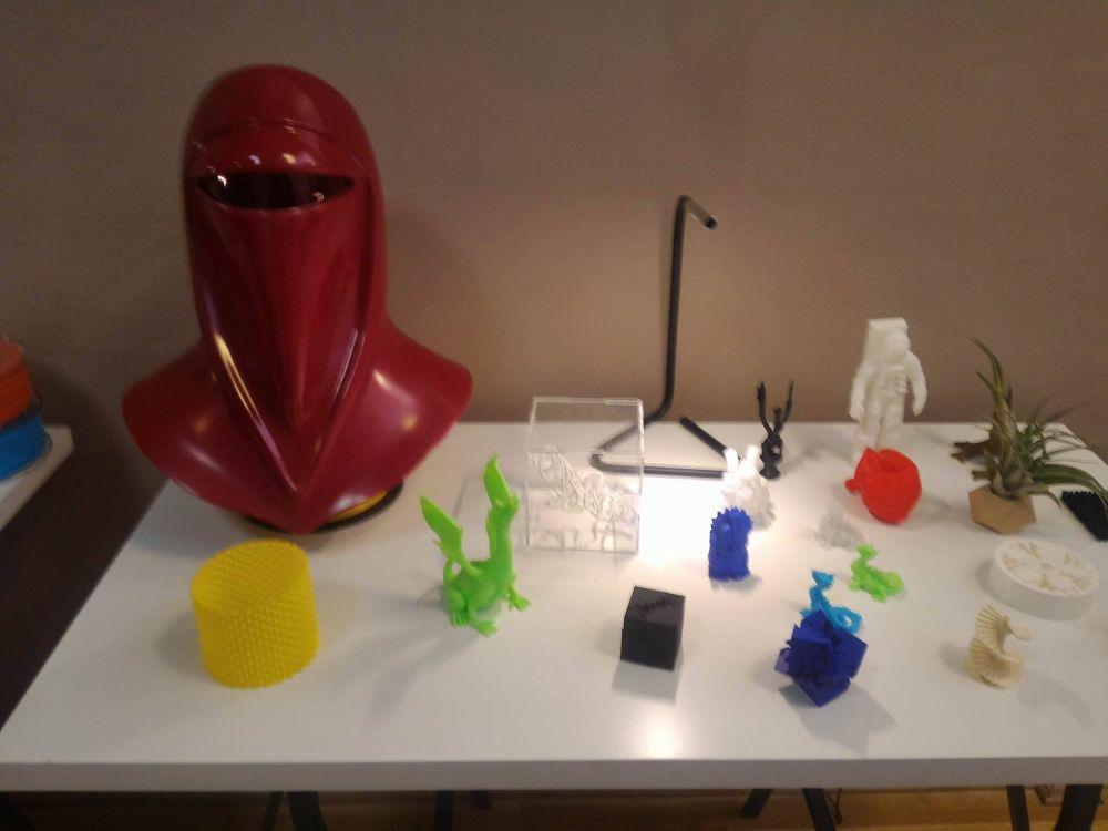 """Expoziţia """"Viitorul în 3D printing"""", organizată în premieră la Cluj"""