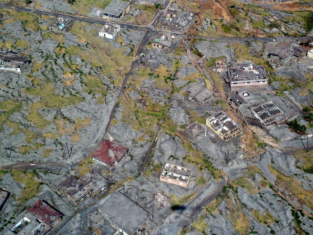 Plymouth, un Pompeii modern din Caraibe distrus de o erupţie vulcanică