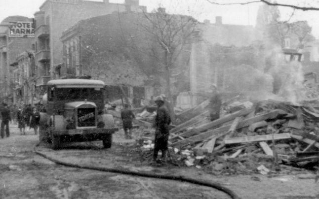 Dezastrul produs de bombardamentele aeriene asupra Bucureştiului din 1944