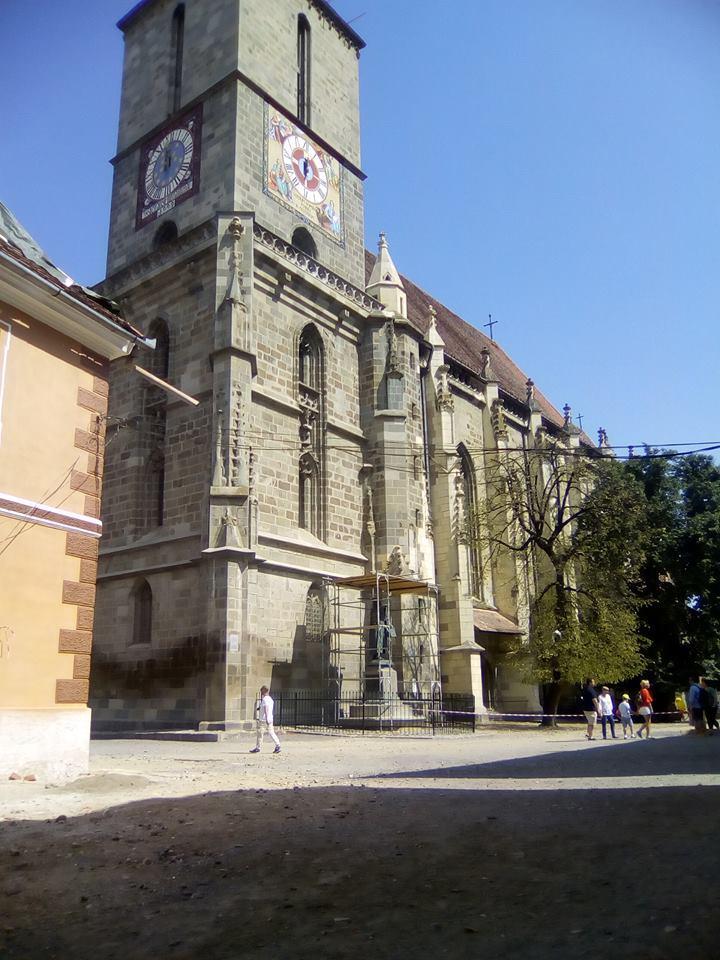 Măsuri urgente de reabilitare la Biserica Neagră din Braşov