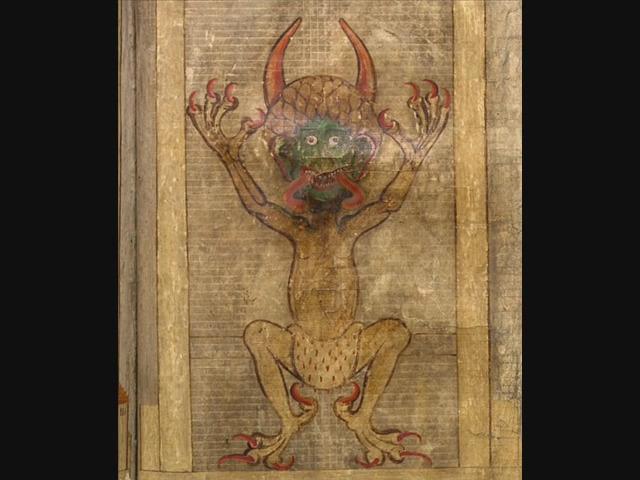 Codex Gigas, numită şi Biblia Diavolului, este cel mai mare şi enigmatic manuscris din istoria Evului Mediu din Europa