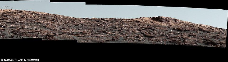 Imagini spectaculoase de pe suprafaţa planetei Marte