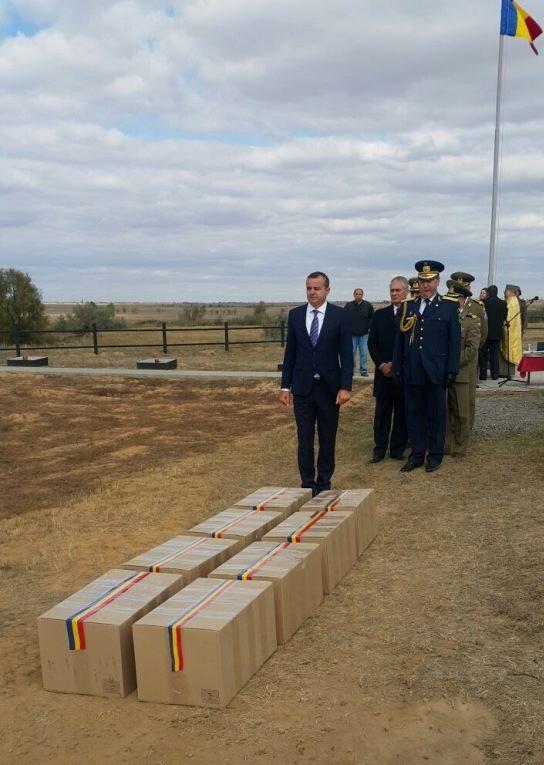 Militari români morţi la Stalingrad, reînhumaţi