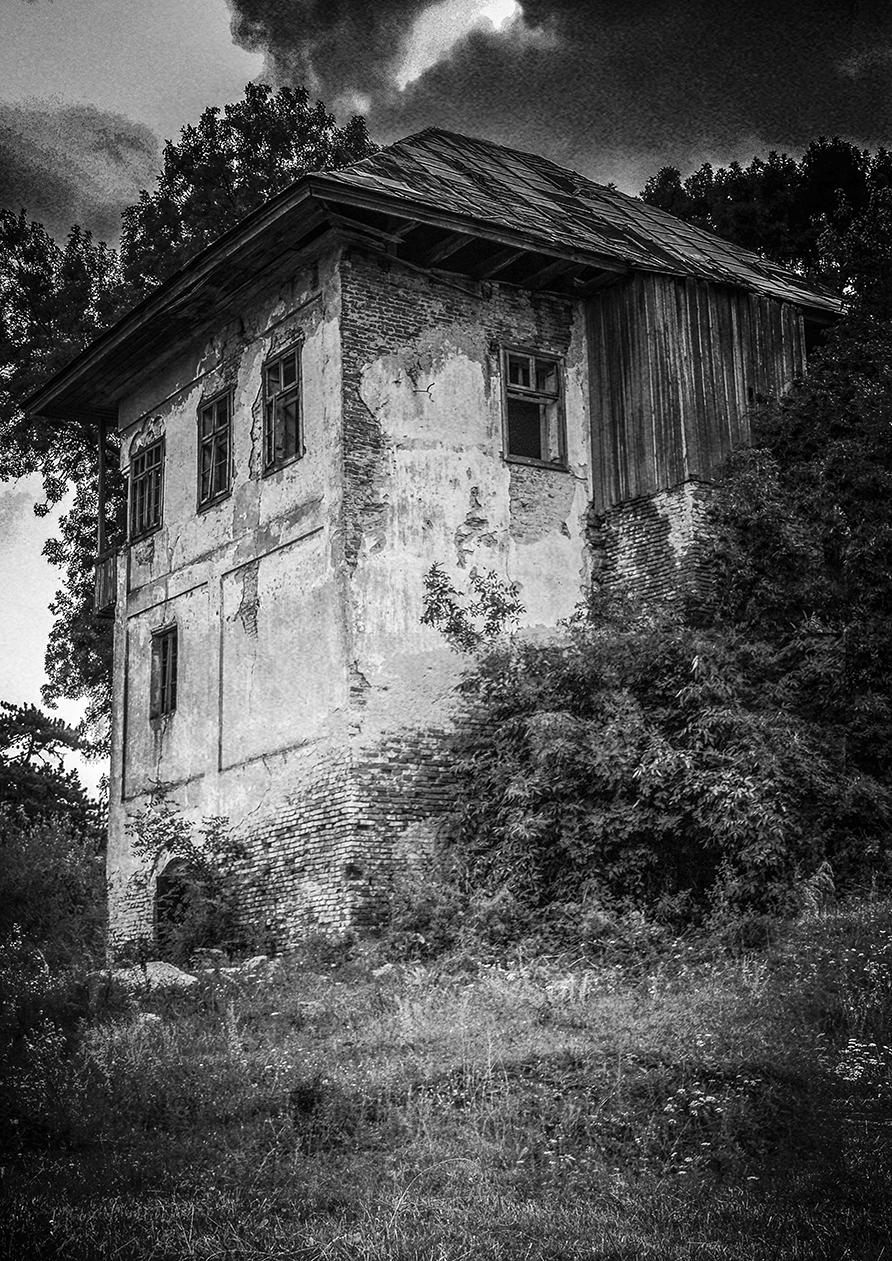 Un grafician din Craiova a luat Oltenia la pas pentru a fotografia clădiri vechi