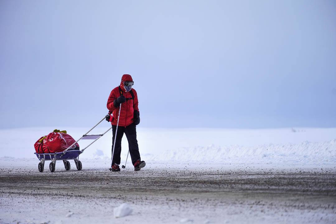 Tibi Uşeriu a câştigat pentru a treia oară cel mai greu maraton din lume - 6633 Arctic Ultra