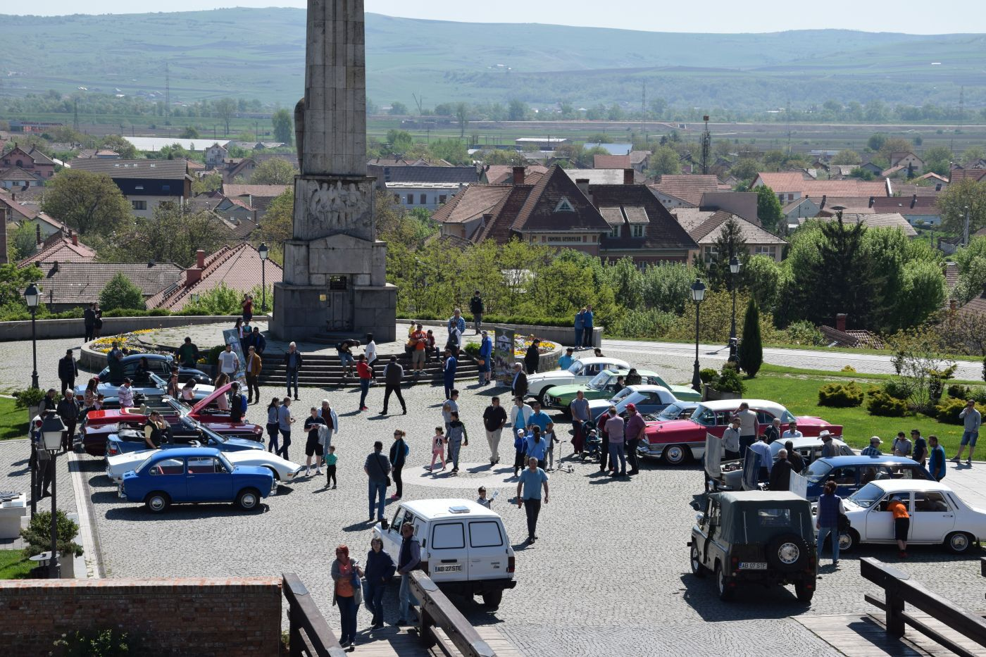 Maşini de epocă, expuse la Alba Iulia