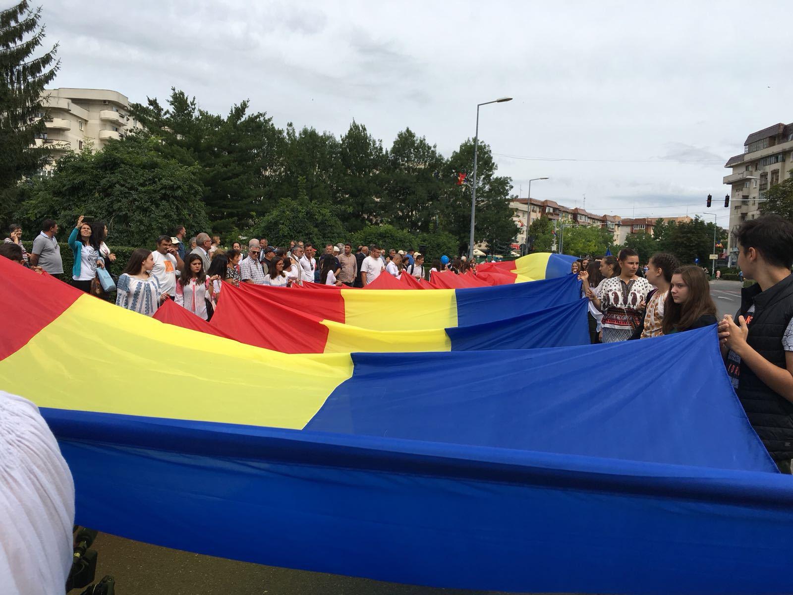 Ziua tricolorului la Câmpina