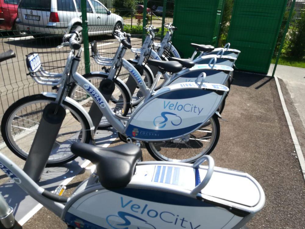 Velo Park, prima staţie inteligentă de biciclete din România