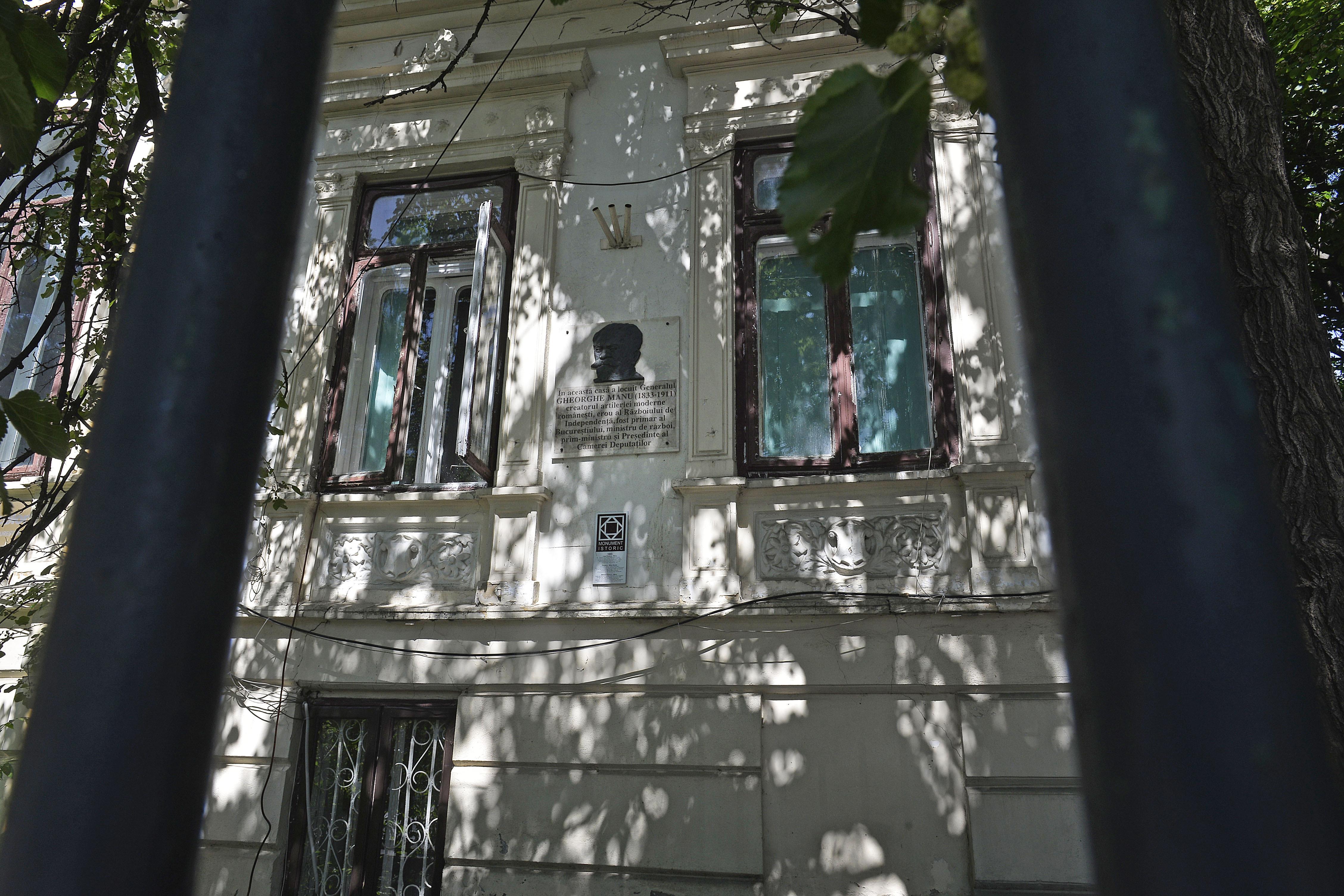Casa generalului Gheorghe Manu