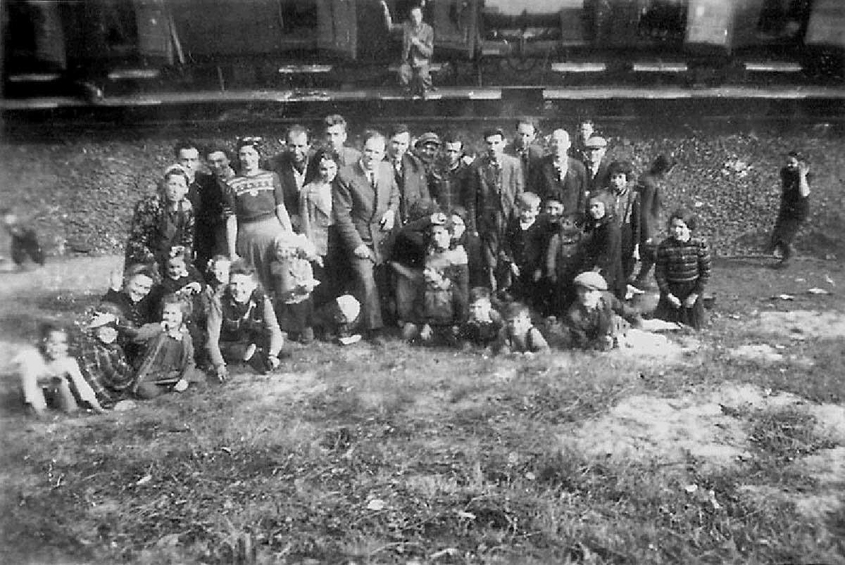 Prizonieri evrei eliberaţi de americani