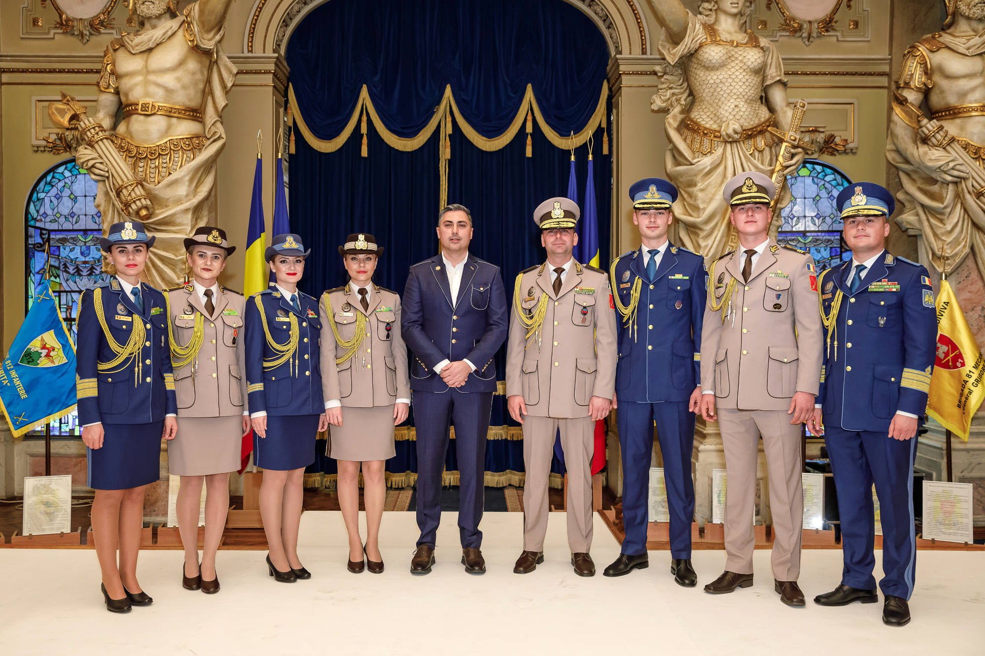 Propuneri de uniforme ale Armatei Române