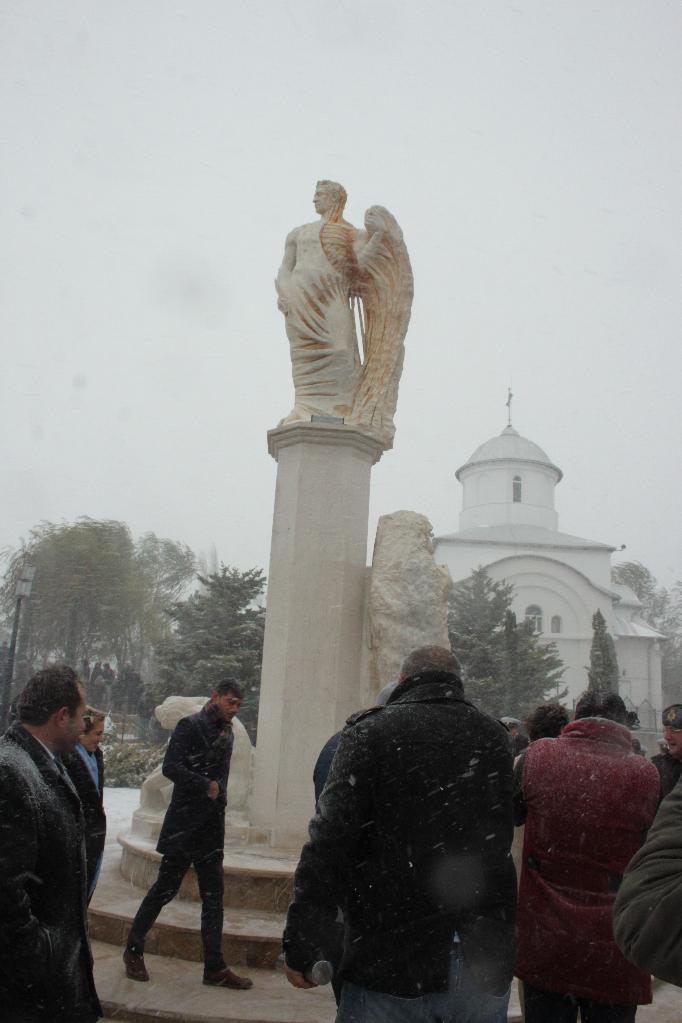 Statuia lui Ovidiu, la Constanţa