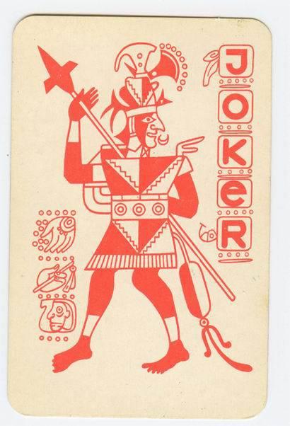 Cărţi de joc cu motive mayaşe din Uniunea Sovietică