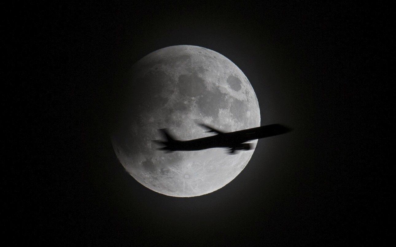 Eclipsa Parţială de Lună din 16 iulie 2019, în imagini