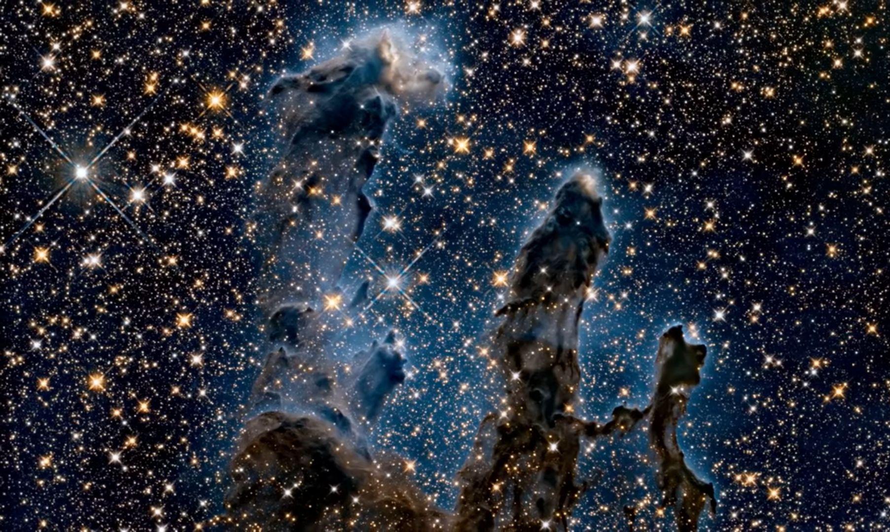 Nebuloasa Vulturului - Stâlpii Creaţiei
